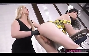Tgirl Fisted coupled with Huge Buttplug