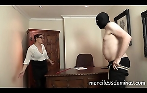 French Duty - Strict Teacher with Cane