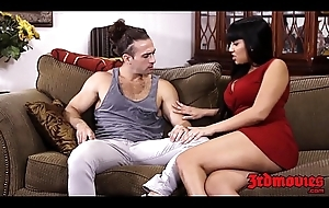 Transparent MILF Mercedes Carrera fucked hard by a young stud