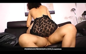 XXX OMAS - Mature German amateur Elke S. gets her indiscretion with the addition of pussy rim with dick