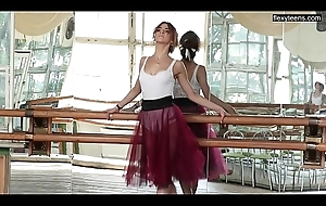 Alla Zadornaya pulse coupled with hottest ballerina!