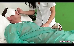 Oral Here the Chap-fallen Slutty Nurse