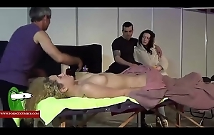 Erotic massage in an obstacle pussy ADR00029
