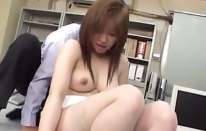 Japanese Office Threesome With Dutiful Asian Teen In Uniform