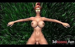 3D Carnal knowledge Heavy Soul Elf Fucked In The Forest