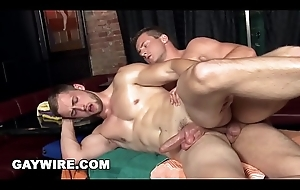 GAYWIRE - Ivo and Samuel Advantage of There Homosexual Activity After Erotic Massage