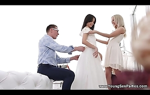 Young Copulation Parties - Dress fitting and a threeway Stefy Shee, Michelle Can