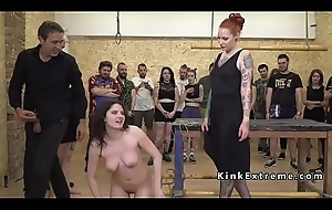 Busty anal team-fucked in recall c raise