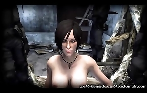 Ada-Wong-gets-Spooked - Give someone a thrashing Free 3D Cartoon