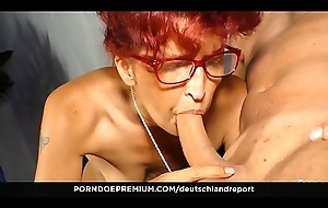 DEUTSCHLAND REPORT - Newbie German redhead Evelyn S. gets say no to pussy pounded in sexy pickup &amp_ fuck